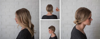 updo tutorial: incorporating a lace braid