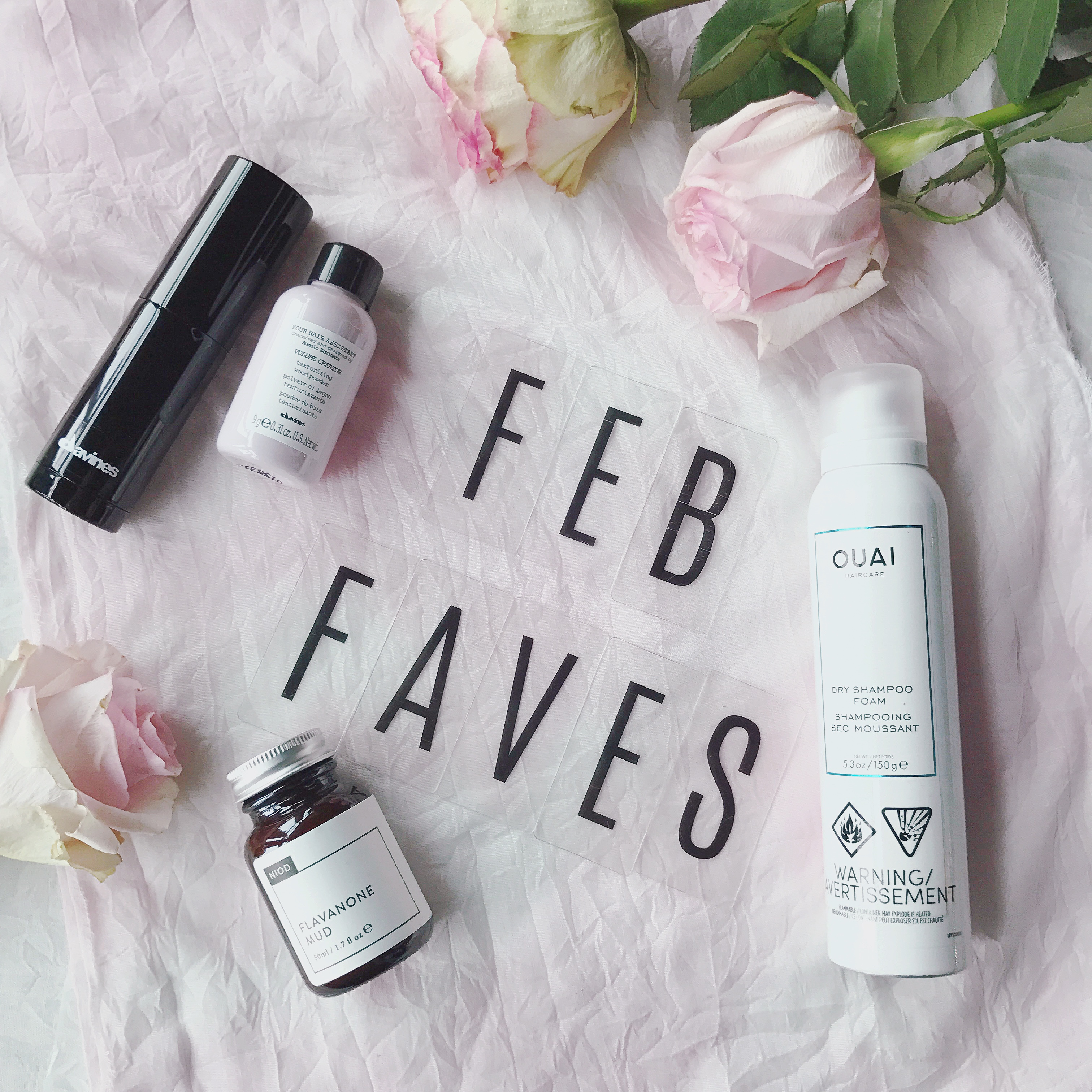 February Favorites – Featuring the Ouai, Davines and Niod
